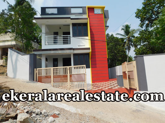 double storied house for sale at Vazhayila Peroorkada Trivandrum real estate